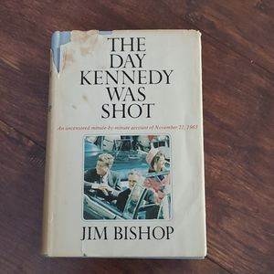 Vintage The Day Kennedy Was Shot Book